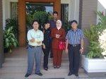Saat Studi Banding di UPBJJ-UT Surabaya